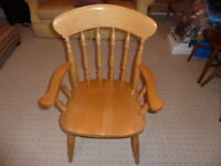 BEECH CARVER CHAIRS