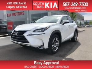 2017 Lexus NX 200t N220T, AWD, BACK UP CAMERA, BLUETOOTH, SUNROO