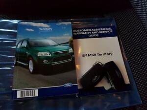 2010 Ford Territory SY Mkii TS (RWD) White 4 Speed Auto Seq Sportshift Wagon