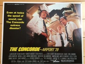"""""""The Concorde - Airport '79"""" Lobby cards"""