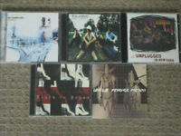 5 cds – Radiohead, Nirvana etc