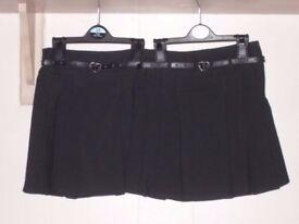 Girls Black School Uniform, Ages 3-4, 4-5 & 5-6 Years / Yrs