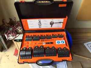 PIPE TOOL:   CST2 Cold-Shot Pipe Freeze Kit + 2 CO2 tanks incl.