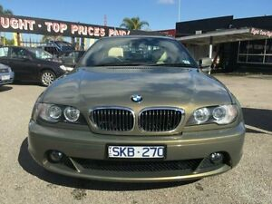 2003 BMW 325CI E46 Olive Green Metallic 5 Speed Automatic Coupe Dandenong Greater Dandenong Preview