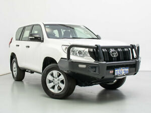 2019 Toyota Landcruiser Prado GDJ150R MY18 GX (4x4) White 6 Speed Automatic Wagon Jandakot Cockburn Area Preview