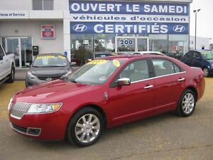 2011 Lincoln MKZ Navigation ** interieur de cuir **