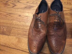 Hush Puppy Men's Leather Shoes Size 12