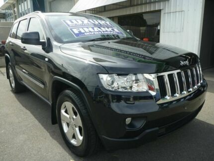 2012 Jeep Grand Cherokee WK MY2012 Laredo Black 5 Speed Sports Automatic Wagon Edwardstown Marion Area Preview