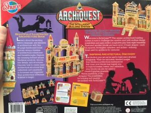 ArchiQuest Kings and Castles Medieval Europe Wooden Blocks