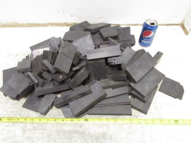 Carbon Graphite Scrap Pieces Mold Material 32.5 Lbs Various Shapes EDM Machine