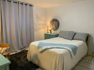 Fully Furnished Bedroom on MAIN floor with 1 Full Size bed