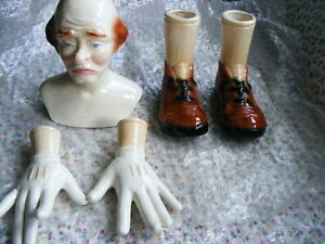 "DOLL MAKERS FOR SALE HEAD,HANDS ,FEET,CLOWN ""LOOK"""