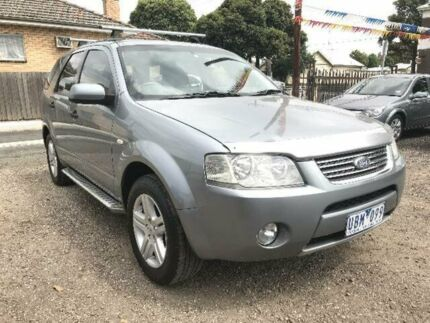 2005 Ford Territory SY Ghia (RWD) Silver 4 Speed Auto Seq Sportshift Wagon South Geelong Geelong City Preview