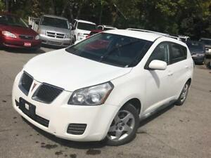 2009 Pontiac Vibe, PL,PW,AC ,RADIO,CD certified