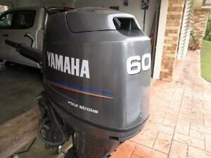 60 HP Yamaha Outboard. Tewantin Noosa Area Preview