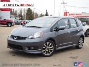 2014 Honda Fit Sport. MP3. Bluetooth. Traction Control. Heated M