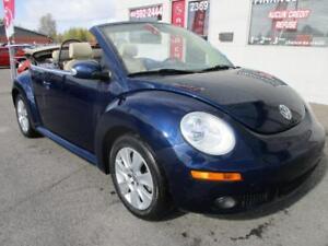 2008 Volkswagen New BeetleCONVERTIBLE/CUIR/AUTO/ BAS KILO