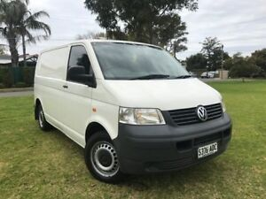 2006 Volkswagen Transporter T5 MY06 Low Roof White 5 Speed Manual Van Somerton Park Holdfast Bay Preview