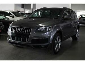 2011 Audi Q7 3.0 TDI S LINE NAVIGATION! PANORAMIC ROOF 7 PASSEN