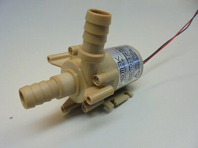 Mini-Kreiselpumpe bürstenlos wasserdicht ROTEK 24V DC, 11,6l/min., 5,2m