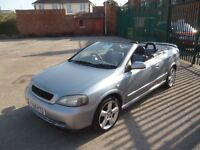 VAUXHALL ASTRA EXCLUSIVE 16V CABRIOLET (silver) 2005