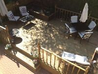 TIMBER DECKING - brand new - INSTALLED - LINED - OILED - any size any location