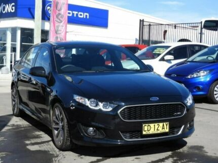 2015 Ford Falcon XR6 XR6 Silhouette Sports Automatic Sedan