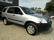 2006 Honda CR-V RD MY2006 Extra 4WD Silver 5 Speed Automatic Wagon Bayswater North Maroondah Area Preview