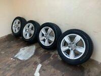 Genuine Audi Alloys alloy wheels 185/60/15 to Suit A1, Polo, Fabia