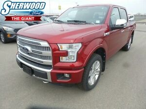 2016 Ford F-150 Platinum w/ Moonroof, Tech Package, Navigation