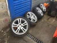 SET OF 4 CITROEN SAXO WHEELS & TYRES 16""