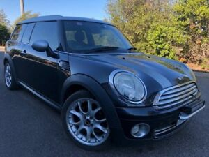 2008 Mini Cooper R55 Clubman Black 6 Speed Automatic Wagon Hoppers Crossing Wyndham Area Preview