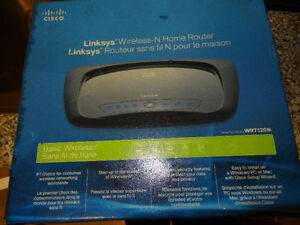 Linksys (WRT120N) Wireless-N Home Router