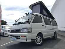 1995 Toyota Hiace Super GL White 3 Speed Automatic Campervan Underwood Logan Area Preview