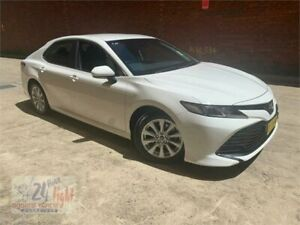 2019 Toyota Camry ASV70R Ascent White 6 Speed Sports Automatic Sedan Campbelltown Campbelltown Area Preview