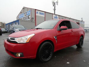 2008 FORD FOCUS SES LUXURY SPORET PKG-LEATHER-SUNROOF Edmonton Edmonton Area image 2