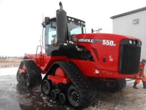 2014 VERSATILE 550DT TRACKED TRACTOR, 110GPM, PTO