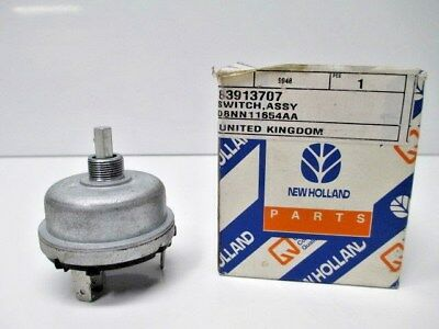 New Holland Light Switch 83913707 New In Package Backhoe Oem Construction