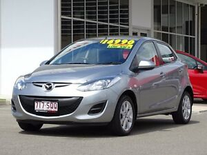 2012 Mazda 2 DE10Y2 MY13 Neo White 4 Speed Automatic Hatchback Garbutt Townsville City Preview