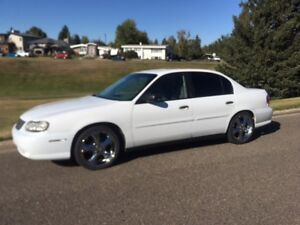 2002 Chev Malibu with low km's and LOTS of extras!