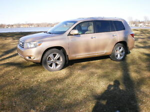 2008 Toyota Highlander Limited/AWD/CUIR/TOIT/CAMERA/132 269 KM