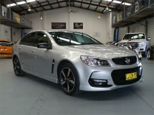 2016 Holden Commodore Vfii MY16 SV6 Black Edition Nitrate Silver 6 Speed Automatic Sedan Seven Hills Blacktown Area Preview