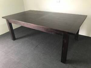 Solid Timber Pavilion Dining Table / As New Eastwood Ryde Area Preview
