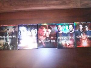 Supernatural Seasons 1-5