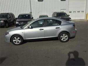 nice little gas miser 2008 mazda 3 4 doors autom $5995