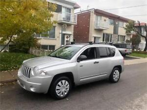 2008 JEEP COMPASS- automatic- AWD- FULL EQUIPER-  2900$**