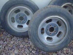 Set 4 Vintage Cheviot Jellybean Peanut Mag Wheel Rims Holden. Enfield Port Adelaide Area Preview