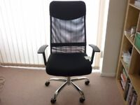 New High Back Leather and mesh chair