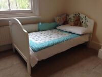 Mamas & Papas, Amie cot bed, cot-top-changer and under-bed storage