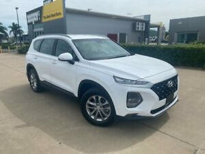 2018 Hyundai Santa Fe TM MY19 Active White 8 Speed Sports Automatic Wagon Garbutt Townsville City Preview
